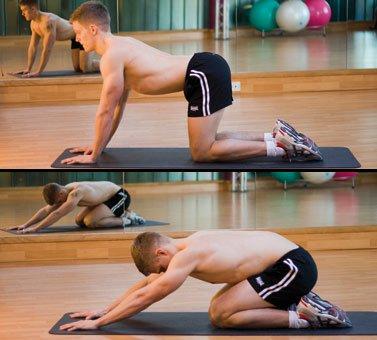 bottom to heel stretch