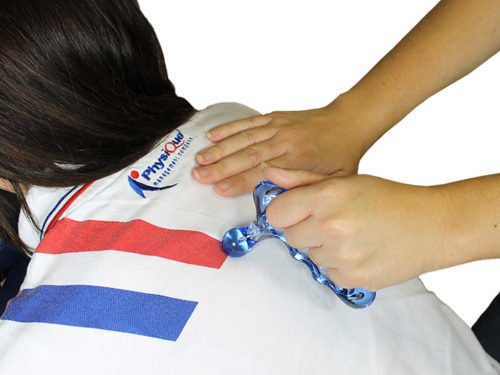 Knobble It Thumb Massage Tool In Use