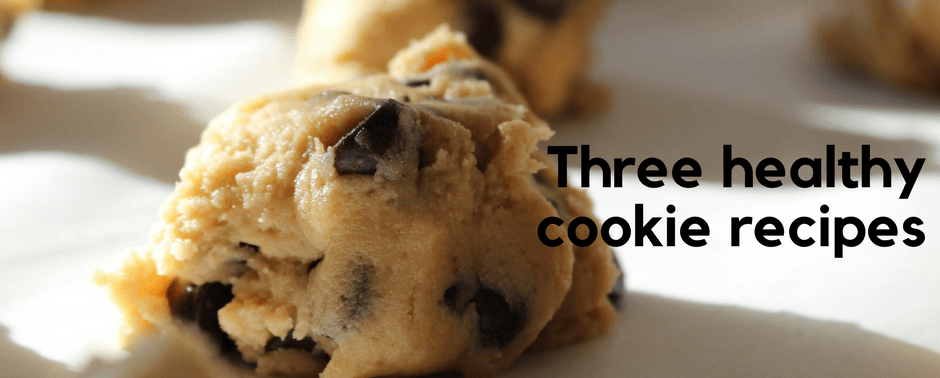 Three healthy cookie recipes