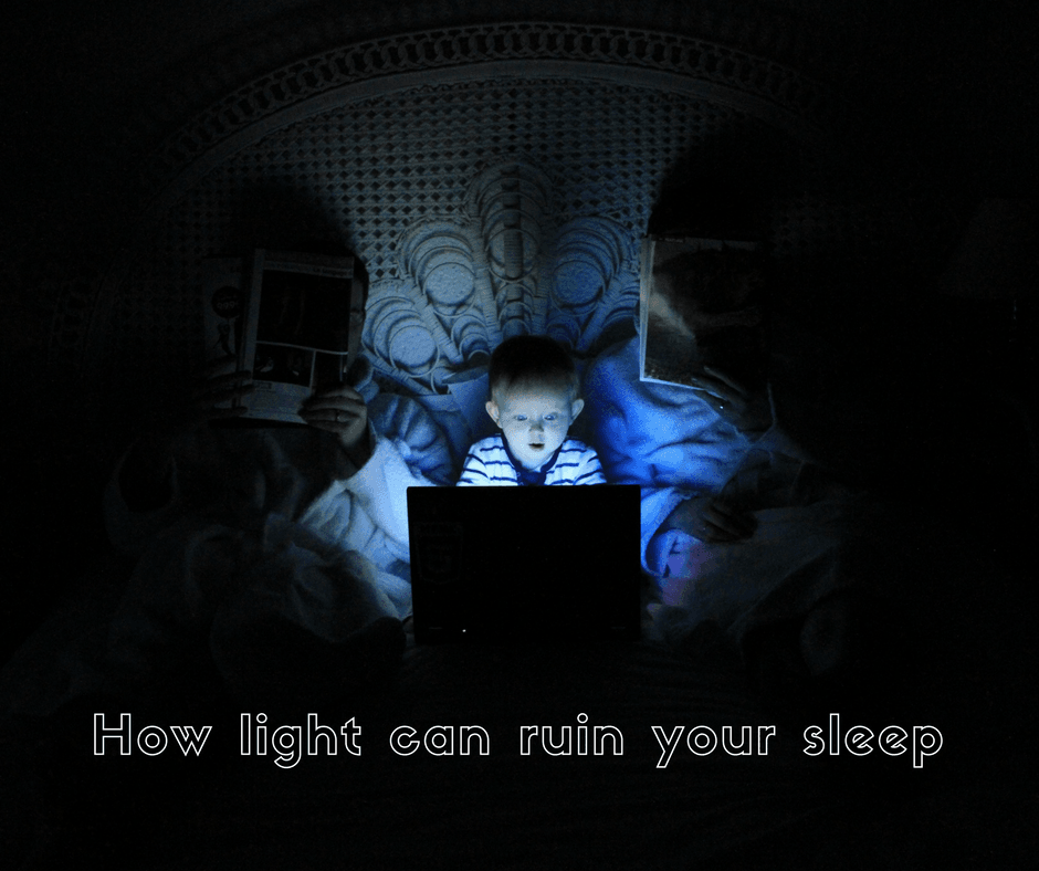 How light can ruin your sleep