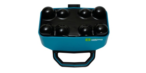 Thumper Lithium8 cordless battery powered professional percussive massager can cover a large surface area so you can perform a full-body massage in 5-8 minutes