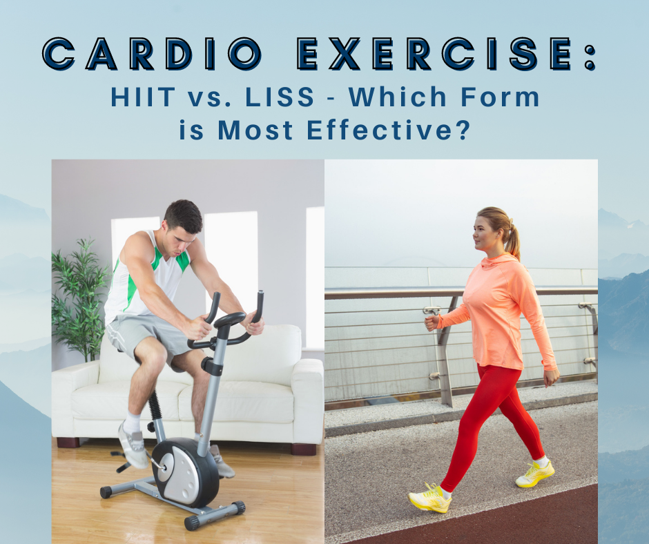 Cardio Exercise: HIIT vs. LISS – Which Form is Most Effective?