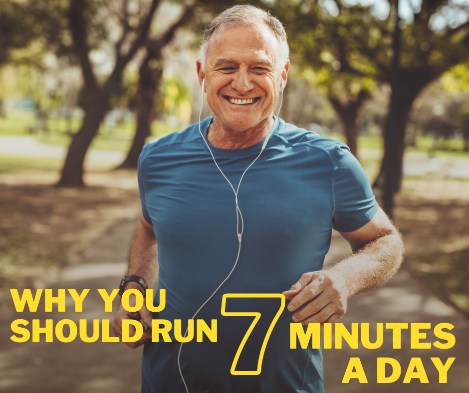 Why You Should Run 7 Minutes A Day