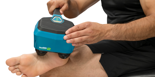 Lithium2 combines the effectiveness and reliability of Thumper's Mini Pro Model and Thumper's new lithium battery technology. You get the strength of a plug-in model with the freedom and mobility of a battery-powered massager.